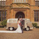 happy couple with VW