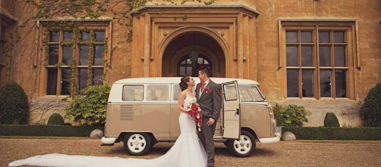 happy couple with VW